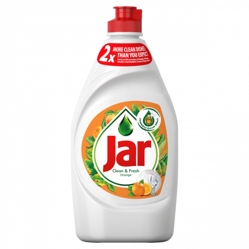 Jar Clean&Fresh Mosogatószer Orange 450 ml (Washing Up Liquid)