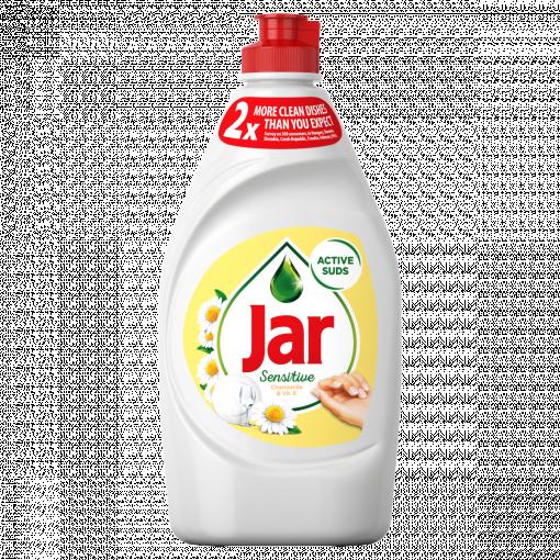 Jar Sensitive Mosogatószer Chamomile & Vitamin E Bőrkímélő Formulával 450 ML