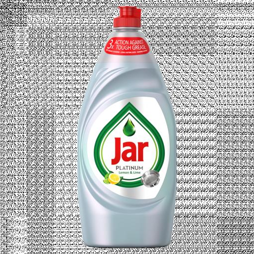Jar Platinum Lemon & Lime Mosogatószer 3x-os Hatással, 905 ml (Washing Up Liquid)