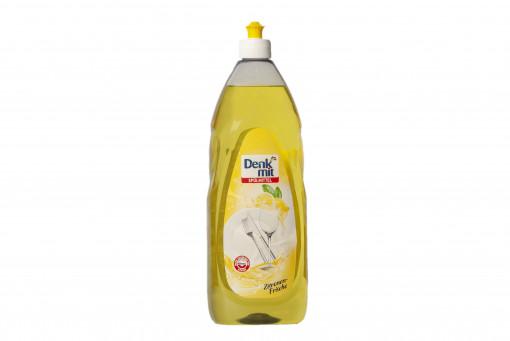 Denkmit Kézi mosogatószer, citrom illattal (Washing Up Liquid, Lemon) 1 000 ml
