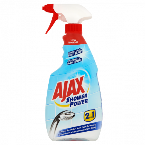 Ajax Shower Power 2in1 háztartási tisztítószer 500 ml (Household Cleaner)