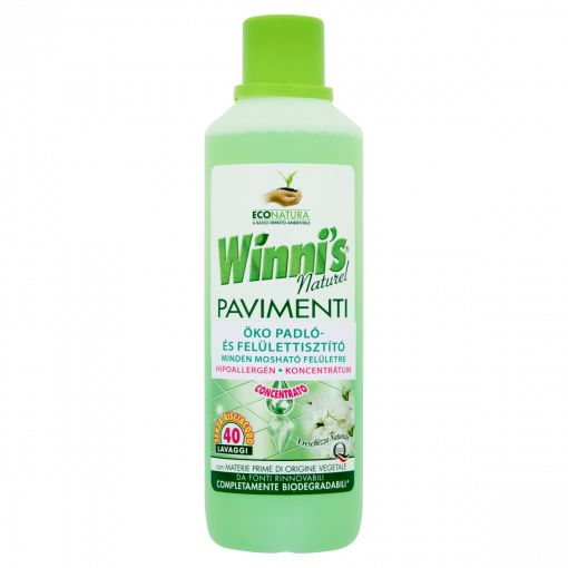 Winni's Naturel Pavimenti öko padló- és felülettisztító 1000 ml (Floor and Surface Cleaner)