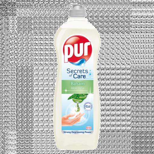 Pur Secrets of Care Balsam Aloe Vera kézi mosogatószer (Washing Up Liquid) 900 ml