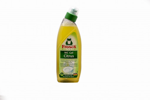 Frosch WC gél citrus 750ml (Toilet Gel Lemon)